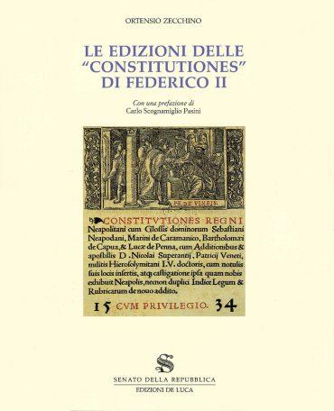 FEDERICO II CONSISTUTION
