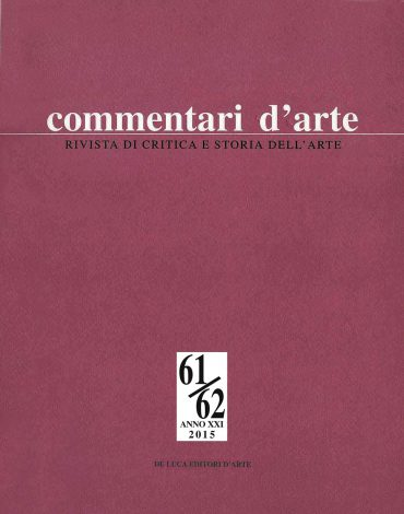 Commentari d'Arte - Rivista di critica e storia dell'arte